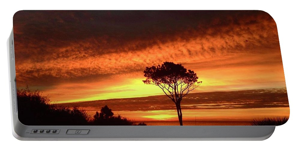 Landscape Portable Battery Charger featuring the photograph Lone Pine 1 by Michael Stothard