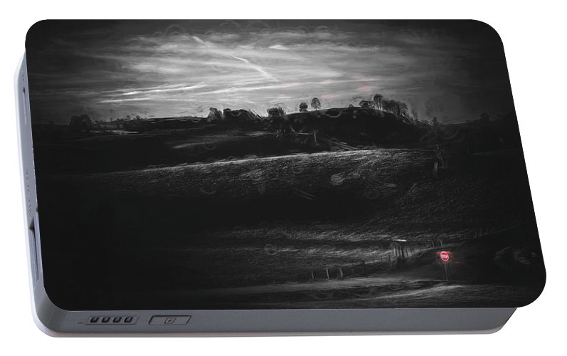 Selective Color Portable Battery Charger featuring the photograph Lost by Jim Love