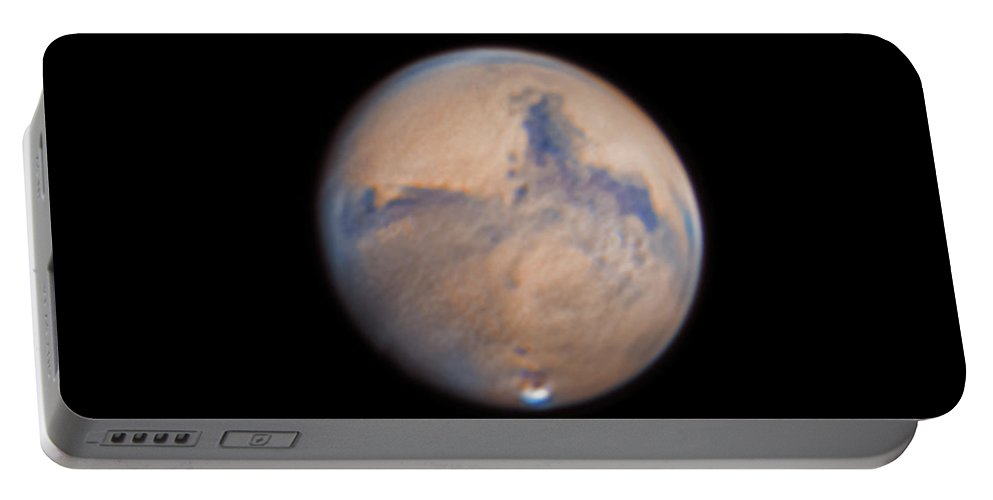 Mars Portable Battery Charger featuring the photograph Mars from 31st October 2020 by Prabhu Astrophotography