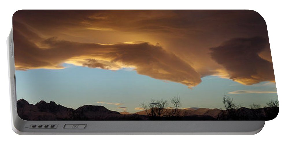 Digital Portable Battery Charger featuring the photograph Morning Sky by Ron Bissett
