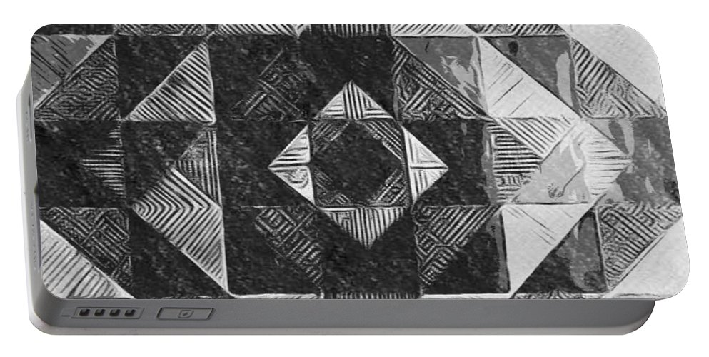 Art Portable Battery Charger featuring the digital art Originated From Within by Andrew Johnson