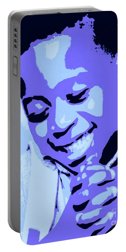 Pray Portable Battery Charger featuring the painting Precious Prayers by Jack Bunds