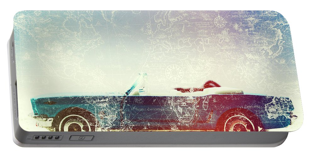 Retro Portable Battery Charger featuring the photograph Rolling Retro by Jorgo Photography - Wall Art Gallery
