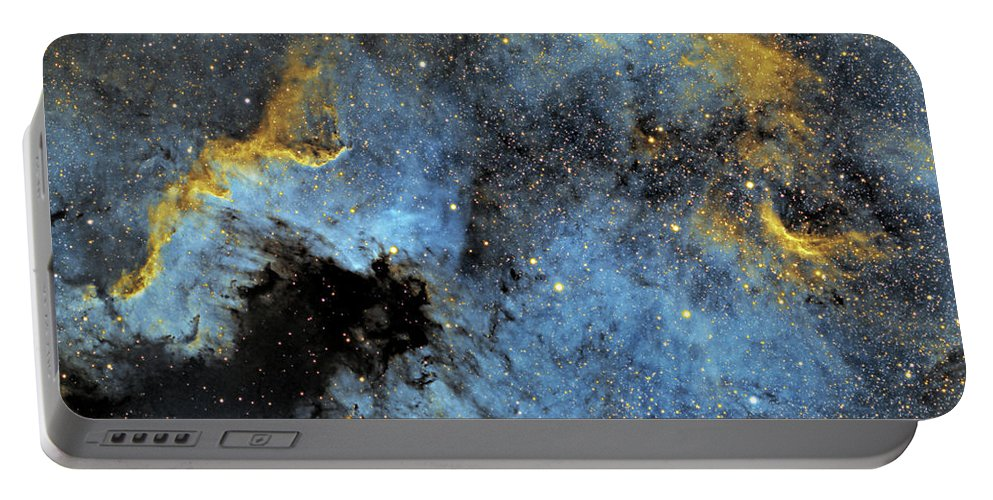 Nebula Portable Battery Charger featuring the photograph The North America Nebula by Prabhu Astrophotography