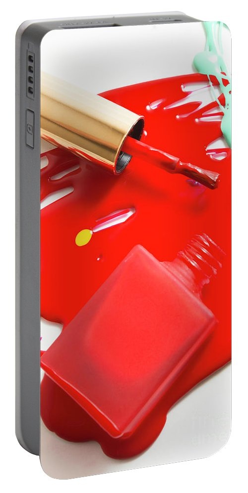 Varnish Portable Battery Charger featuring the photograph Unpolished by Jorgo Photography - Wall Art Gallery