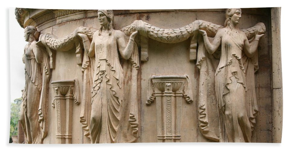 San Francisco Beach Towel featuring the photograph Palace Of Fine Art Relief by Christiane Schulze Art And Photography