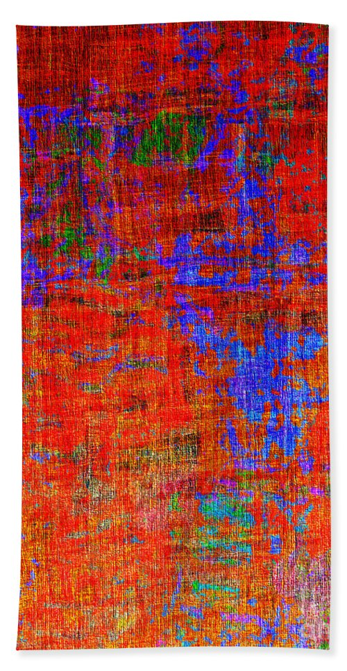 Abstract Beach Towel featuring the digital art 0325 Abstract Thought by Chowdary V Arikatla