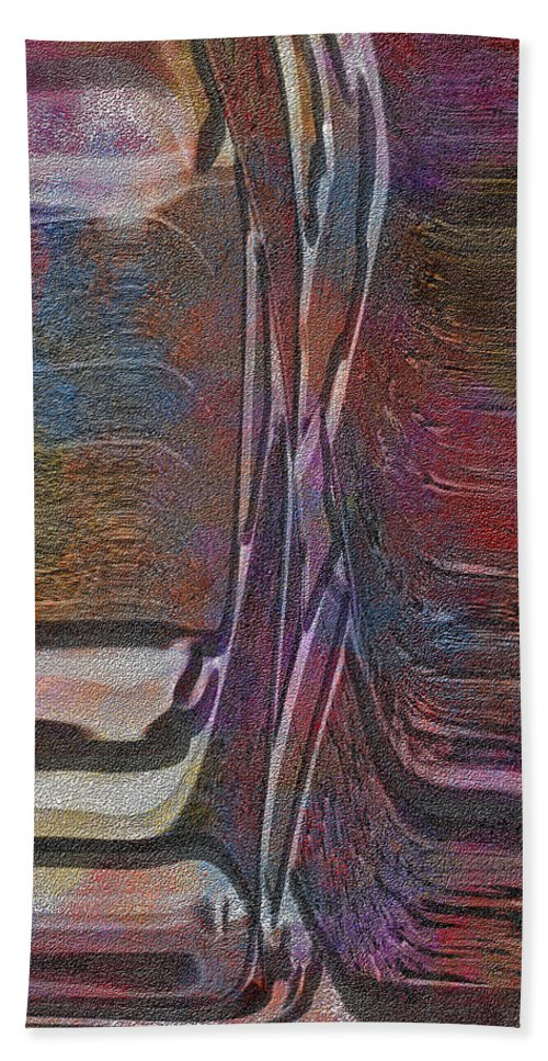 Abstract Beach Towel featuring the digital art 0922 Abstract Thought by Chowdary V Arikatla