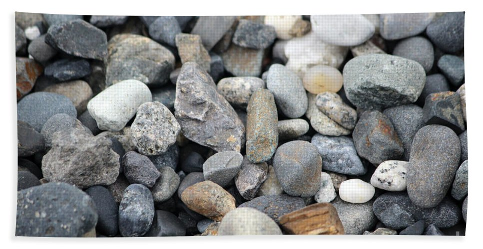 Rock Beach Towel featuring the photograph Alaskan Sand by Stacey May