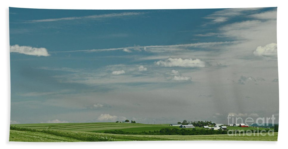 Maine Beach Towel featuring the photograph Aroostook 1 by Laura Mace Rand