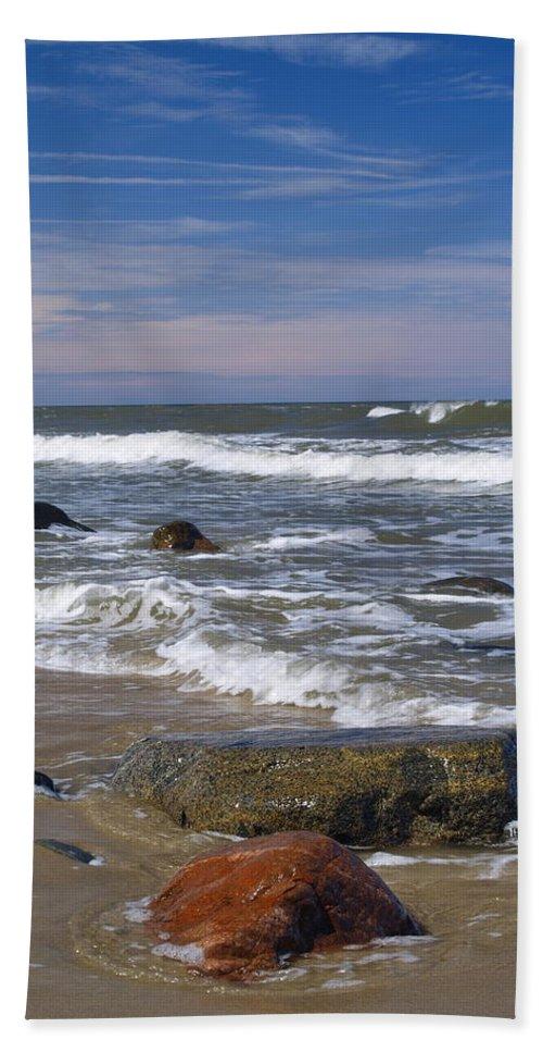Baltic Beach Towel featuring the photograph Baltic Sea by Karol Kozlowski