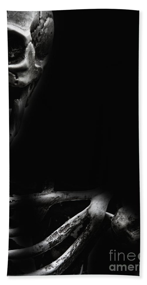 Atmosphere Beach Towel featuring the photograph Bones by Margie Hurwich