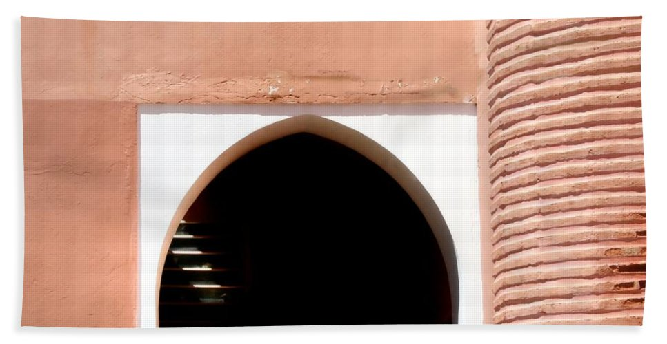 Morocco Beach Towel featuring the photograph Doorway by A Rey