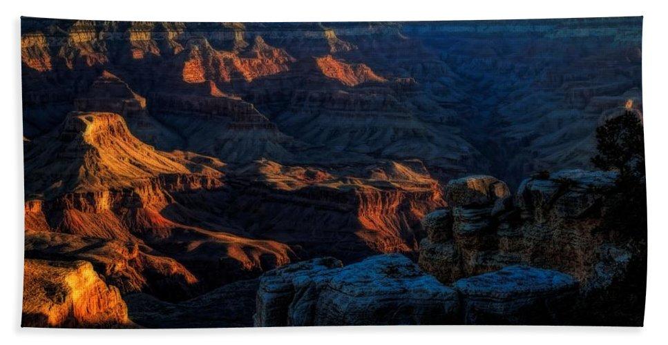 Morning Prayers Beach Towel featuring the photograph First Light by Jon Burch Photography