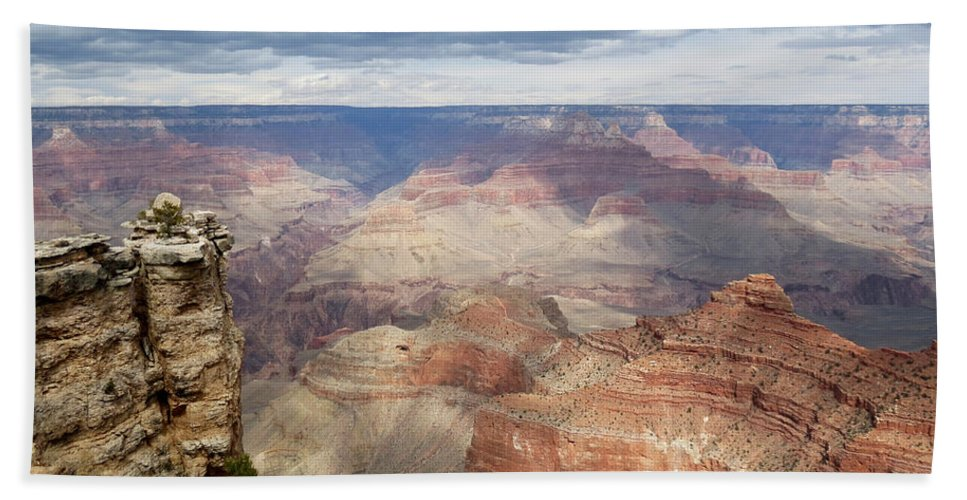 Grand Canyon Beach Towel featuring the photograph Grand Canyon National Park by Laurel Powell