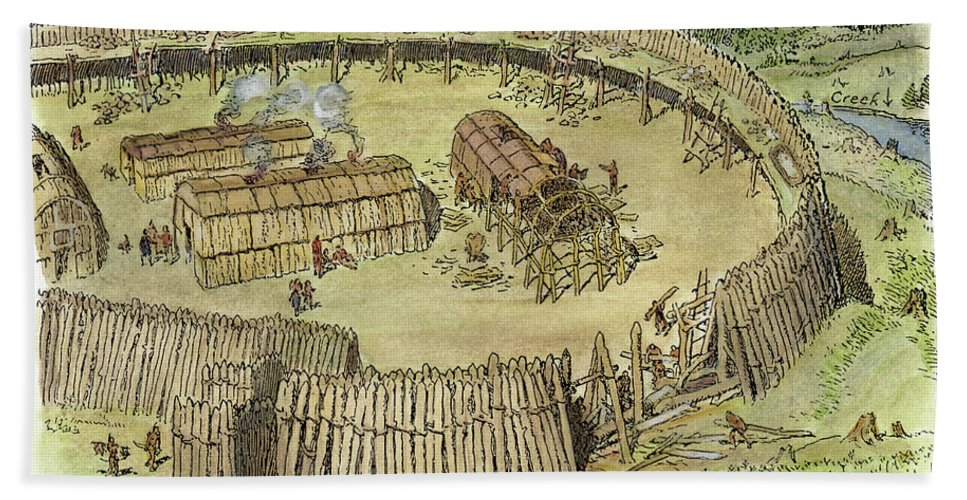 Image result for iroquois village
