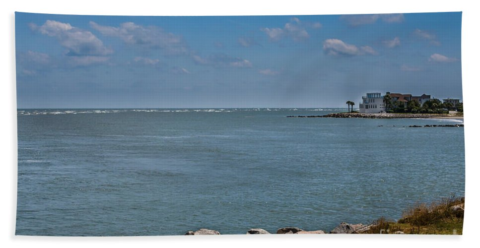 Sullivan's Island Beach Towel featuring the photograph Island Time by Dale Powell