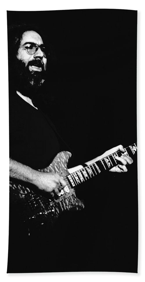Jerry Garcia Beach Towel featuring the photograph Jerry In Cheney 1 by Ben Upham
