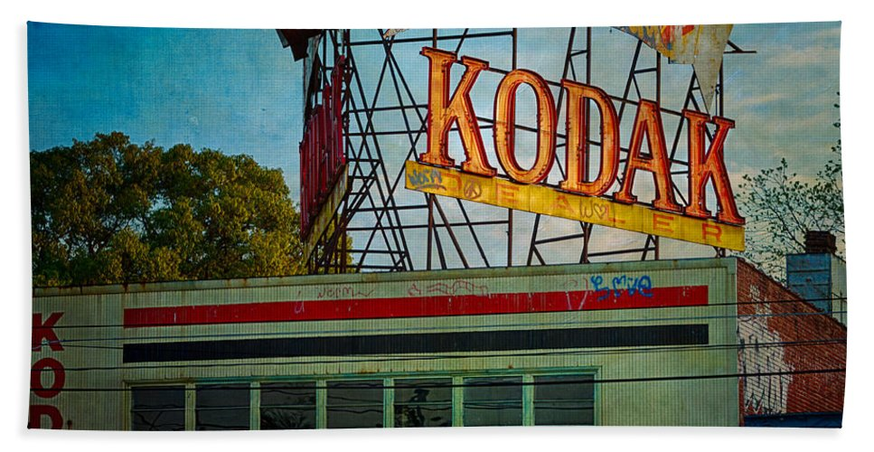Kodak Beach Towel featuring the photograph Kodak's Moment by Doug Sturgess