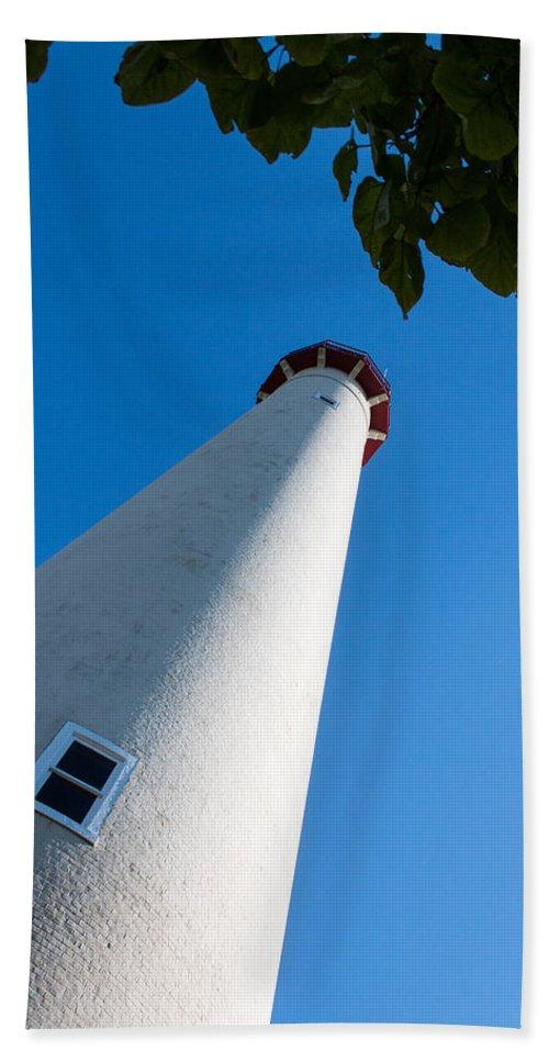 Blue Beach Towel featuring the photograph Lighthouse by Gaurav Singh