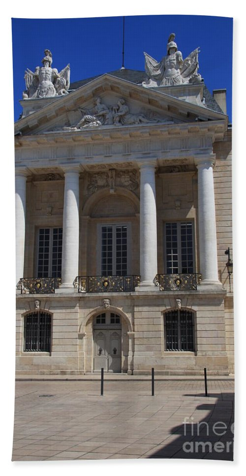 Palace Beach Towel featuring the photograph Logis Du Roi - Dijon by Christiane Schulze Art And Photography