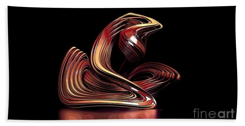 Modern Art Mixed Media Beach Towel featuring the mixed media Modern Art by Marvin Blaine