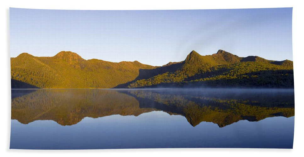 Reflections Beach Towel featuring the photograph My Quiet Place by Anthony Davey