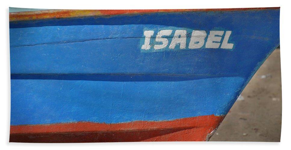 Panga Beach Towel featuring the photograph Santa Rosalia Harbor 12 by Jeff Brunton