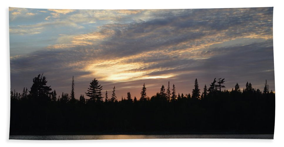 Shoreline Beach Towel featuring the photograph Shoreline by Thomas Phillips