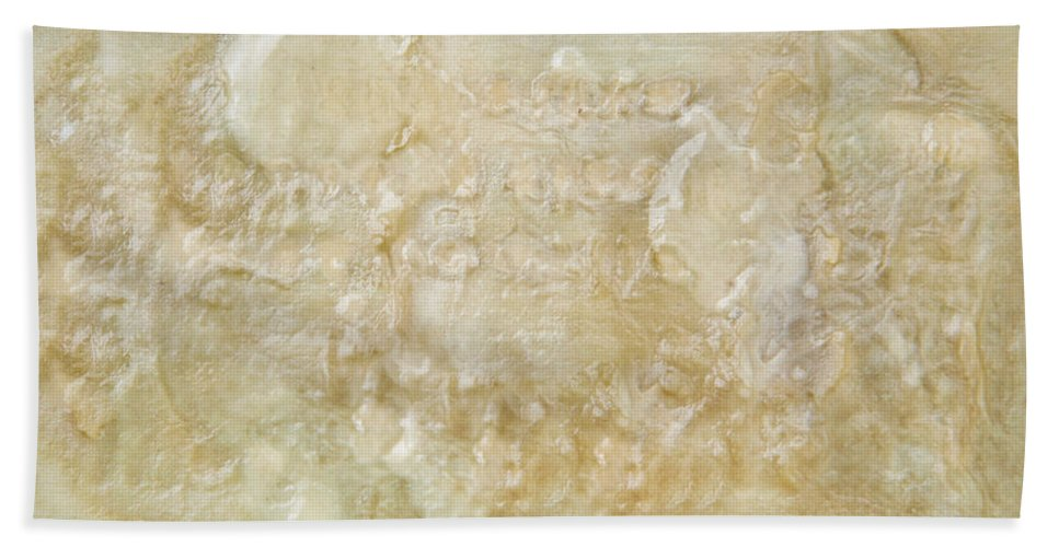 Alkali Beach Towel featuring the photograph Soap Detail by Tom Gowanlock