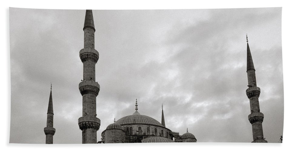 Blue Mosque Beach Towel featuring the photograph The Blue Mosque by Shaun Higson