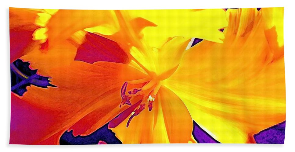 Flower Beach Towel featuring the photograph Tulip 6 by Pamela Cooper