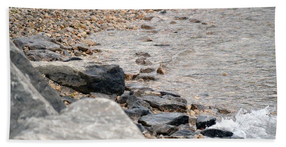 Water Beach Towel featuring the photograph Waters Edge by Linda Kerkau