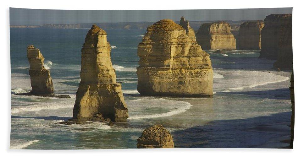 Australia Beach Towel featuring the photograph 12 Apostles #4 by Stuart Litoff