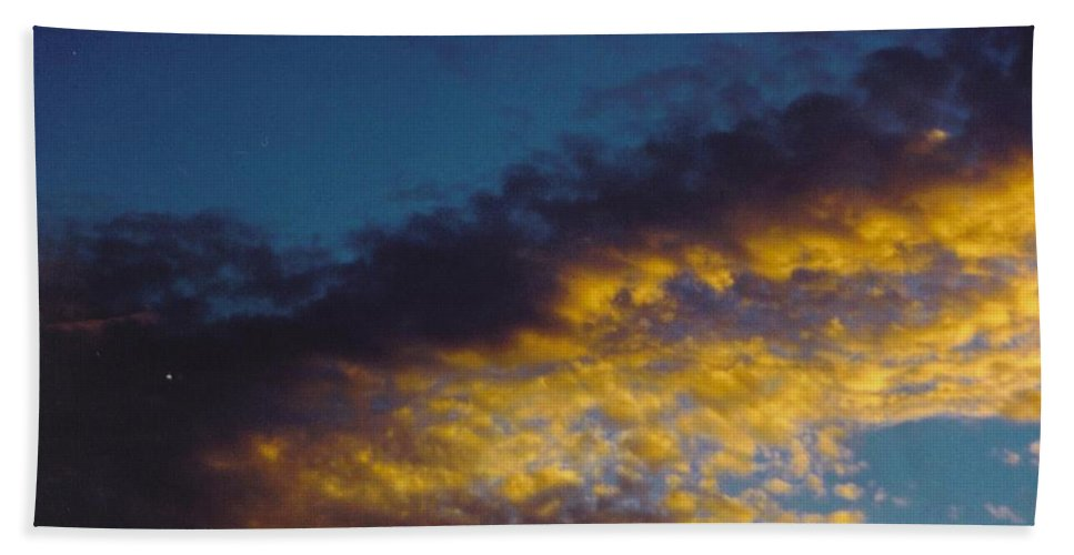 Lumpy Sky Beach Towel featuring the photograph Sky Scape by Robert Floyd