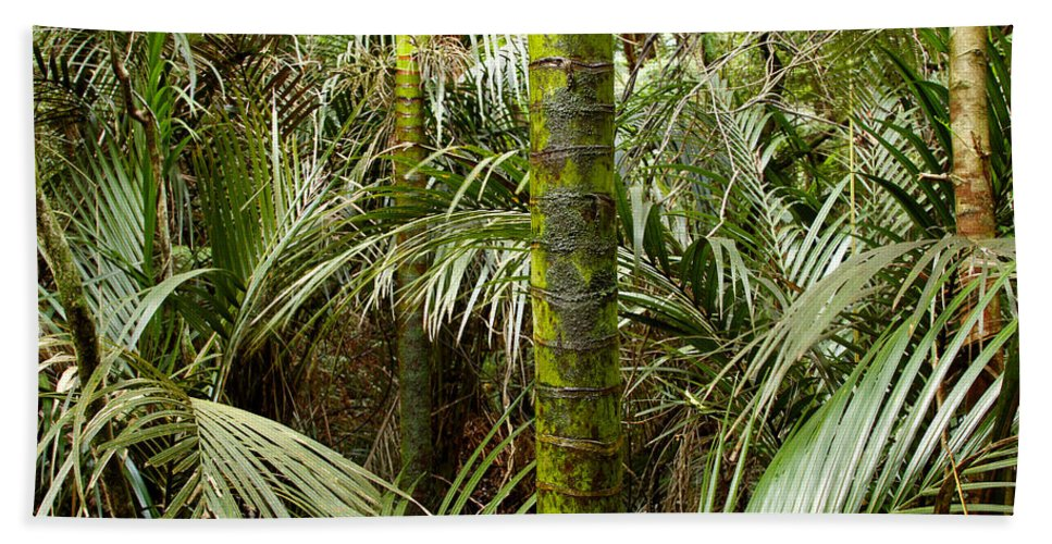 Vegetation Beach Towel featuring the photograph Jungle by Les Cunliffe