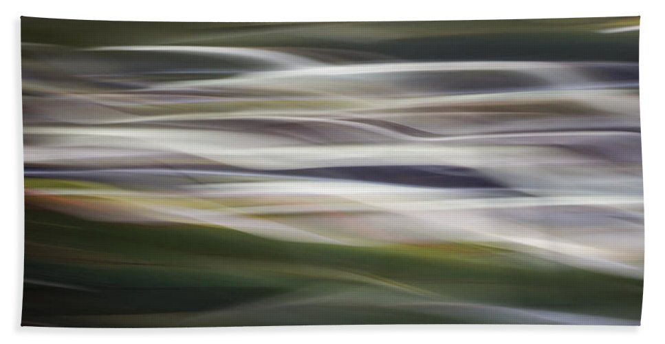 Blur. Motion Blur Beach Towel featuring the photograph Blurscape by Dayne Reast