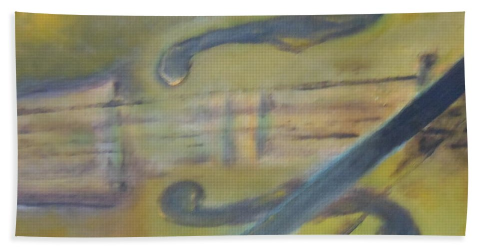 Abstract Beach Towel featuring the painting Art By Lyle by Lord Frederick Lyle Morris - Disabled Veteran