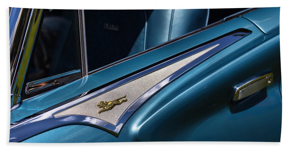 1961 Beach Sheet featuring the photograph 1961 Chrysler New Yorker Town And Country by Gordon Dean II
