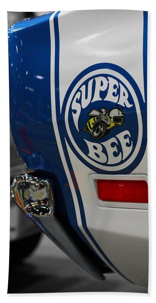 1970 Beach Towel featuring the photograph 1970 Dodge Coronet Super Bee by Gordon Dean II