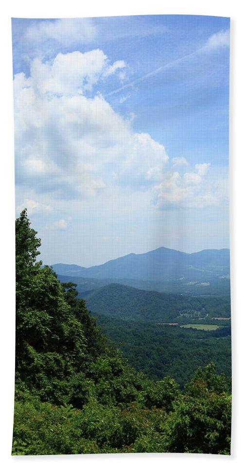 America Beach Towel featuring the photograph Blue Ridge Mountains - Virginia 5 by Frank Romeo