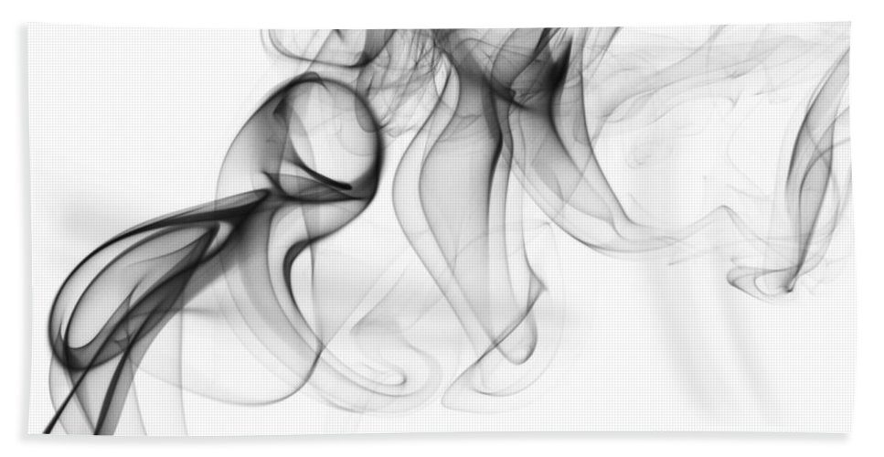 Smoke Beach Towel featuring the photograph Fluidity No. 1 by Andrew Giovinazzo