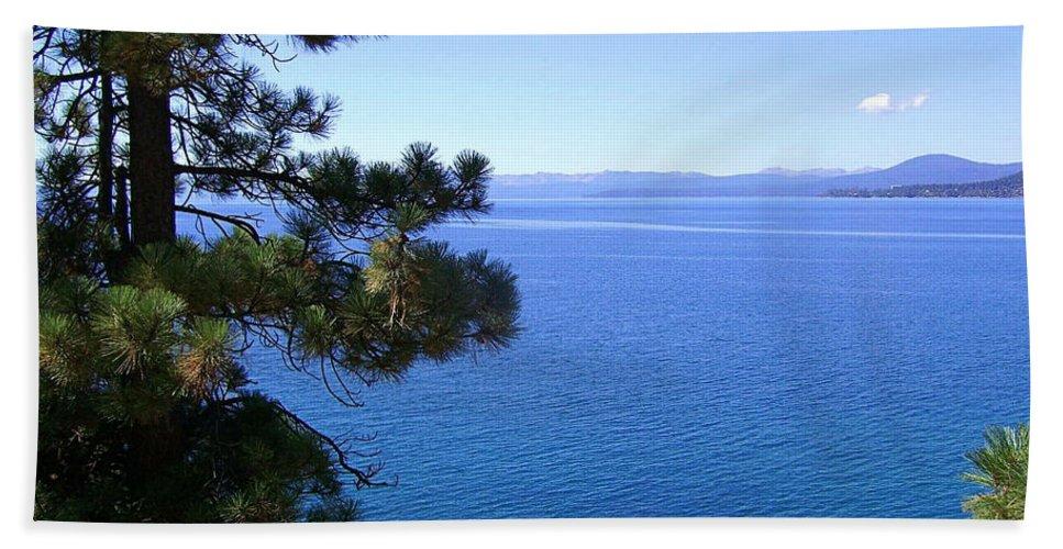 California Beach Towel featuring the photograph Lake Tahoe 2 by J D Owen