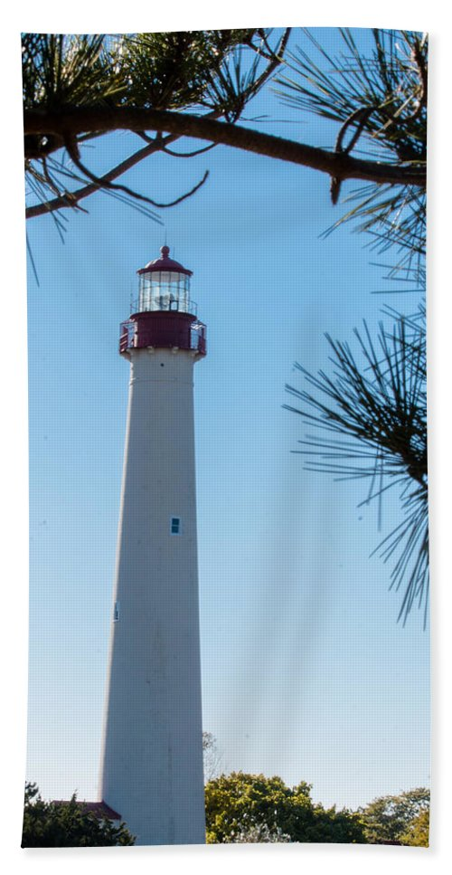 Frame Beach Towel featuring the photograph Lighthouse by Gaurav Singh