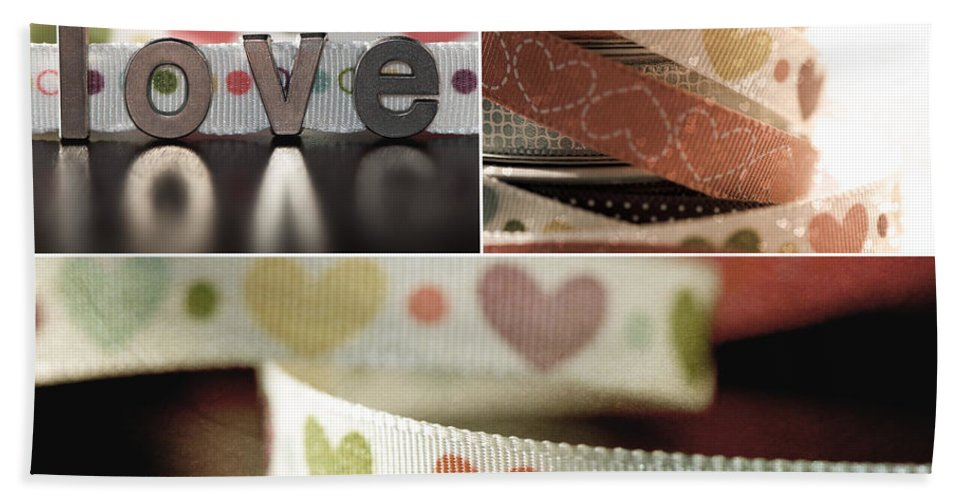 Valentines Day Beach Towel featuring the photograph Love by Lisa Knechtel