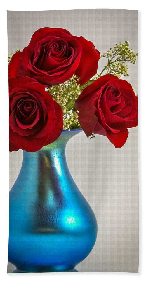 Art Beach Towel featuring the photograph Love Red by Jack R Perry