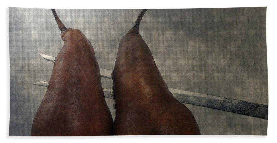 Pear Beach Towel featuring the photograph Pears by Joana Kruse