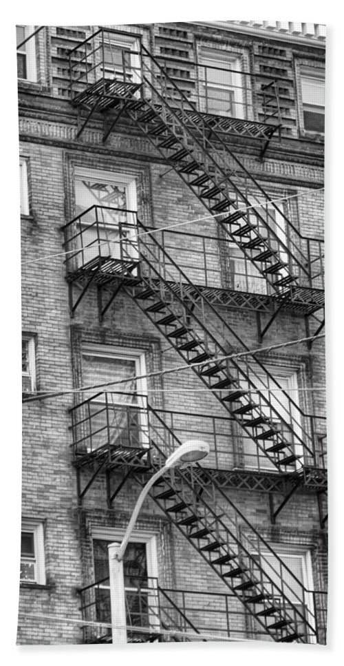 Stairs Beach Towel featuring the photograph Stairs by Dan Sproul