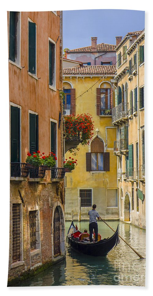 Architcture Beach Towel featuring the photograph Venice by Brian Jannsen