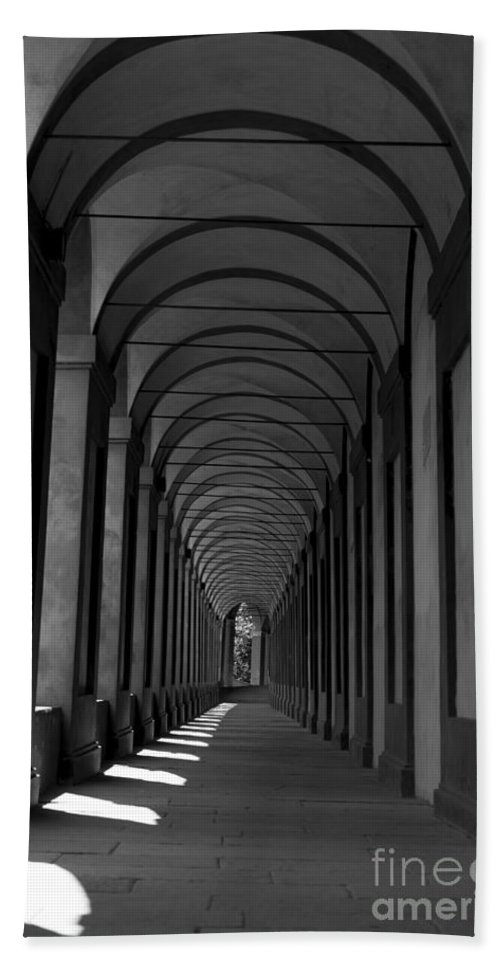 Arcade Beach Towel featuring the photograph Archway by Mats Silvan
